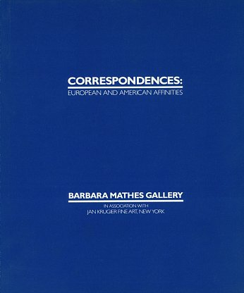 Correspondences: European and American Affinities