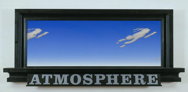 Atmospheric Formation 2004 Oil on wood 34 1/2 x 79...