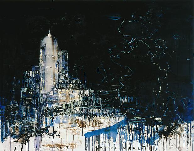 Pizzi Cannella (b. 1955) Cattedrale (La mappa del...