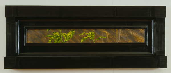 North American Vegetae #2 2007 Oil on wood 22 1/2...