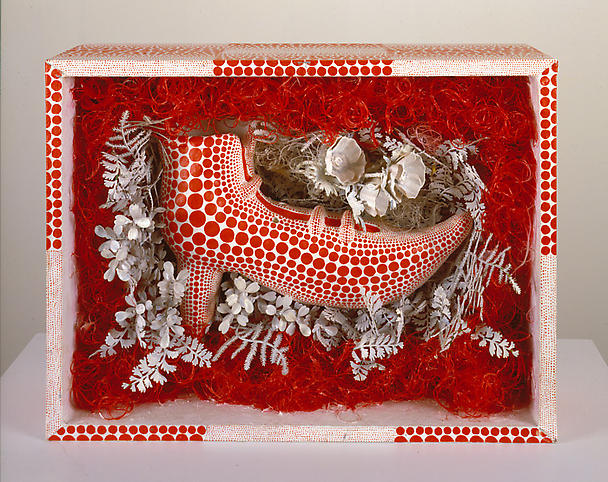 Yayoi Kusama (b. 1929) Red Shoe 1991 Mixed media 1...