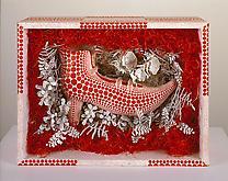 Yayoi Kusama (b. 1929) Red Shoe 1991 Mixed media 1...