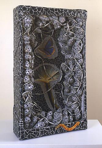 Yayoi Kusama (b. 1929) Butterfly 1981 Mixed media...