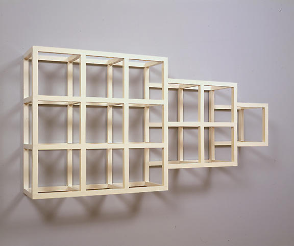 Sol LeWitt (1928-2007) Wall Piece No. 4 1979 Ename...