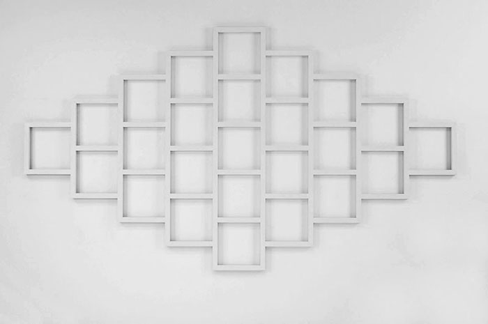 Sol LeWitt (1928-2007) Wall Structure 1977 Baked e...