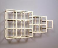 Sol LeWitt (1928-2007) Wall Piece No. 4, 1979 Enam...