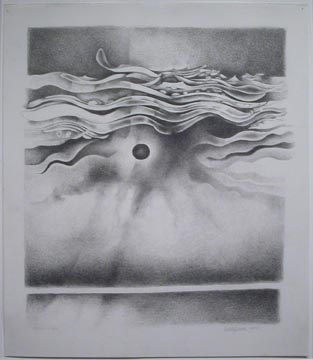 Lee Bontecou Untitled , 1990 Graphite on paper 17...