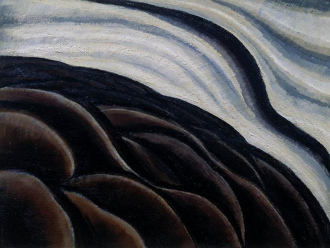 Arthur Dove (1880 - 1946) Sea Thunder (Seagull Mot...