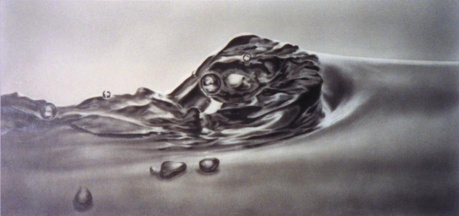 Acquatinto 2000 Graphite on paper, mounted on alum...