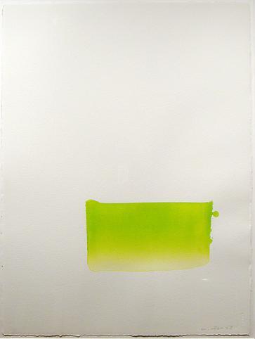 Lee Ufan (b. 1936) Dialogue, 2006 Watercolor on pa...