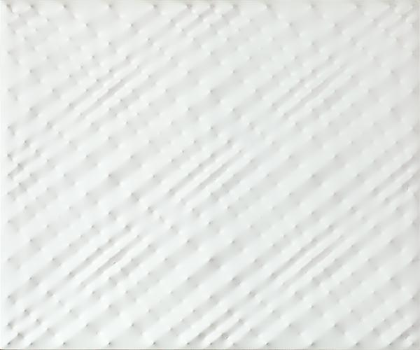 Enrico Castellani (b. 1930) Superficie bianca, 198...