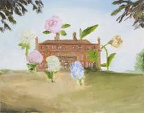 Karen Kilimnik, the summer house, 2011, Water solu...