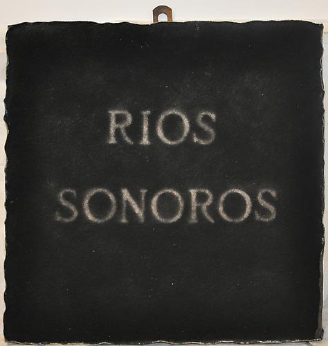 Pier Paolo Calzolari (b. 1943) Rios sonoros, 1973...
