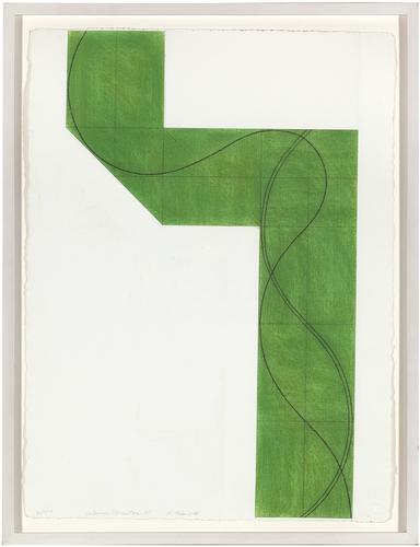 Robert Mangold (b. 1937) Column Structure XV, 2007...