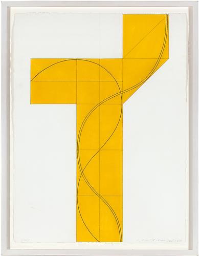 Robert Mangold (b. 1937) Column Structure XVIII, 2...