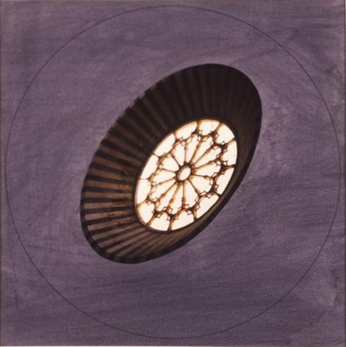 Jan Dibbets, Orvieto, 1989, Color photo, pencil, w...
