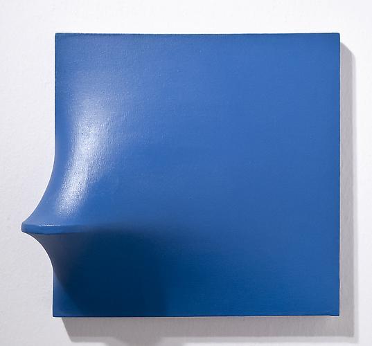 Agostino Bonalumi (1935-2013) Blu, 1970 Vinyl temp...