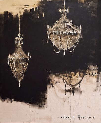 Pizzi Cannella (b. 1955) Salon de Musique, 2008 Oi...