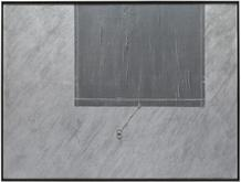 Robert Moskowitz, Untitled, 1962, Aluminum paint a...