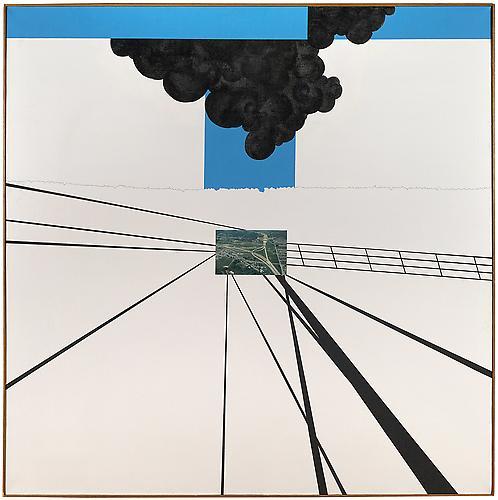 Allan D'Arcangelo (1930-1998) Double Overpass,...