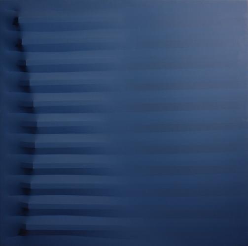 Agostino Bonalumi (1935-2013) Blu 1979 Acrylic on...