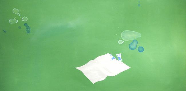 Joe Goode (b. 1937) Clouds, 1973 Oil on canvas 30...