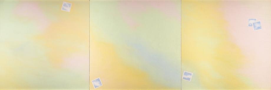 Joe Goode (b. 1937) Cloud-Photograph Triptych, 196...