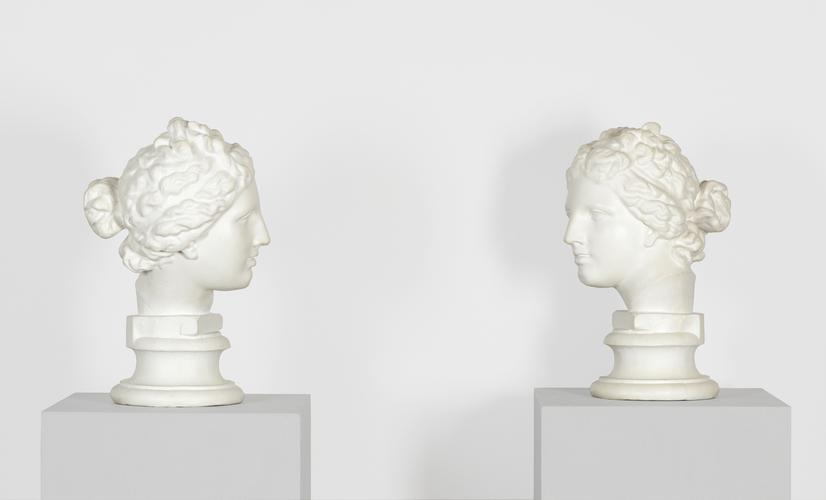 Giulio Paolini, Mimesi, 1975, Plaster, Each: 15 x...