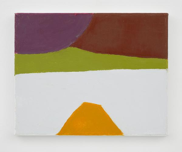Etel Adnan (b. 1928) Untitled 2014 Oil on canvas 9...