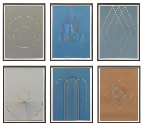 Claudia Weiser,Series of six untitled works...
