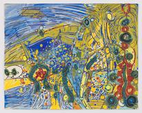 Lee Mullican,California Dreaming, 1965, Oil,...