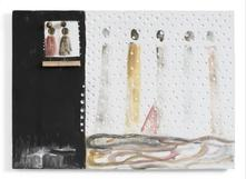 Senza titolo 1974 Plaster, brass and mixed media 1...