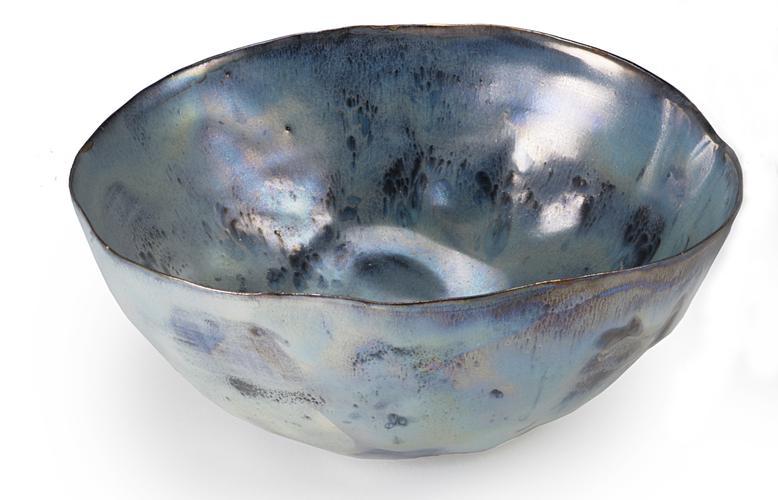 Coppetta c. 1956 Glazed polychrome ceramic 2...
