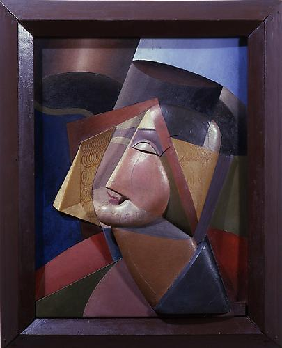 Alexander Archipenko (1887-1964) Woman with hat 19...