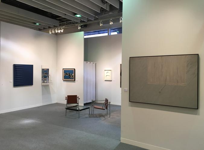 March 2 - 5, 2017 - Installation view - The armory...