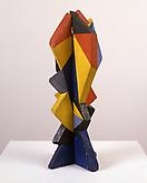 Giacomo Balla (1871-1958) Fiore 1918 Painted wood...