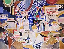 Rafael Barradas (1890-1929) Untitled 1918 Watercol...
