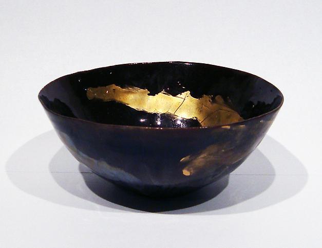 Coppetta c. 1965 Glazed polychrome ceramic 2 1/2 x...