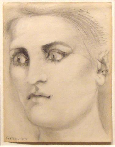 John Graham (1881-1961) Woman, 1950 Graphite and o...