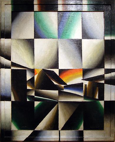 Arthur Segal (1875-1944) Regenbogen (prismatisch)...