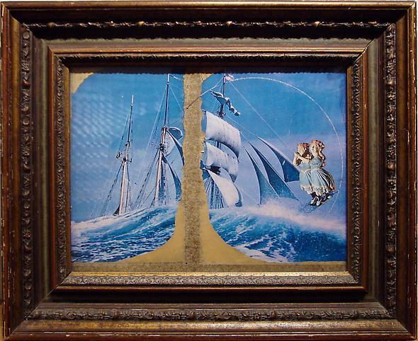 Joseph Cornell (1903-1972) Carrousel - Lanner Walt...