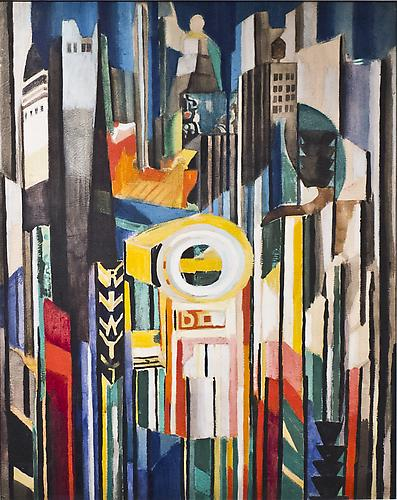 Joseph Stella (1877-1946) New York c. 1920 Waterco...