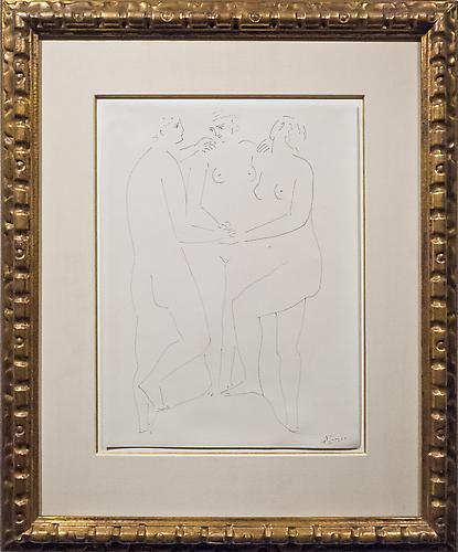 Pablo Picasso (1881-1973) The Three Graces, c. 192...