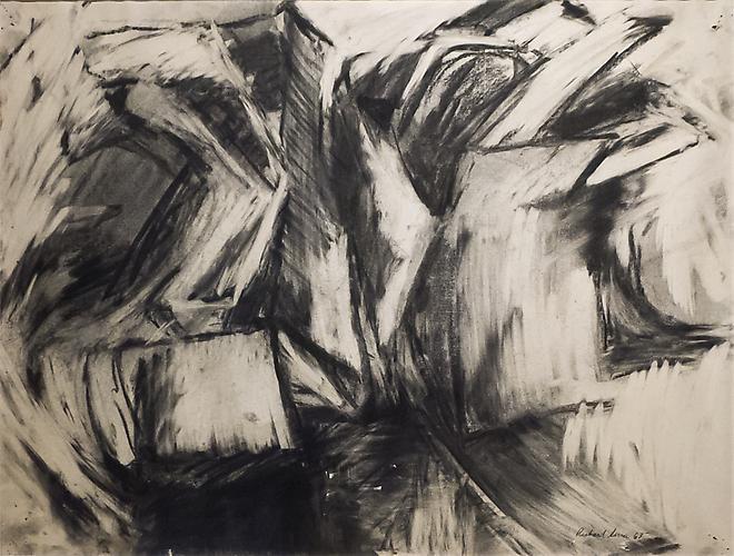 Richard Serra (b. 1939) Untitled, 1963 Charcoal on...