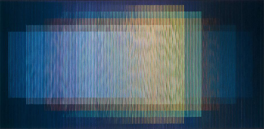 Carlos Cruz-Diez (b. 1923) Physichromie No. 485, 1...