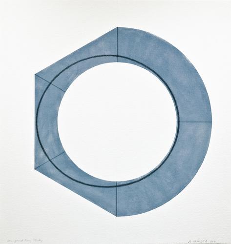 Robert Mangold (b. 1937) Compound Ring Study, 2011...