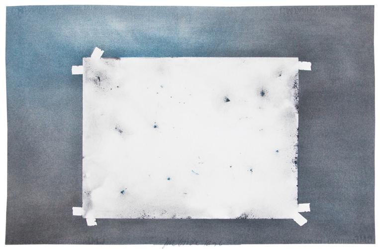 Joe Goode (b. 1937) X-Ray Drawing 12, 1976 Powder...