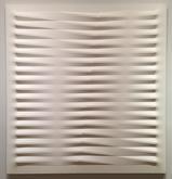 Agostino Bonalumi (1935-2013) Bianco 1978 Acrylic...