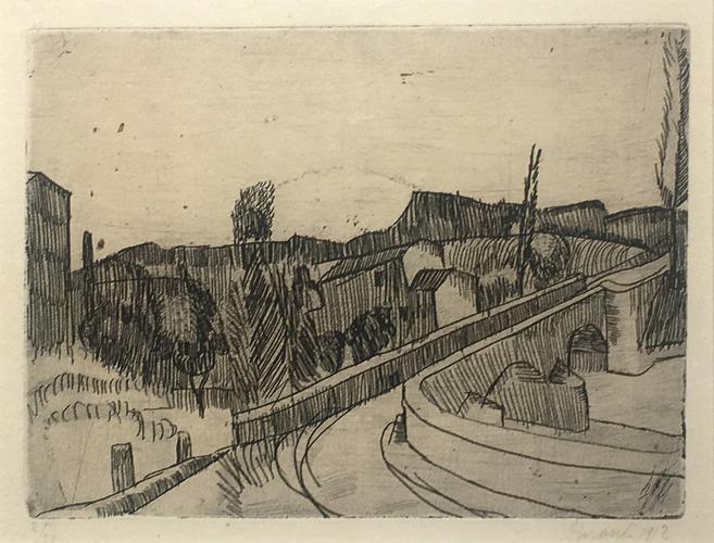 Giorgio Morandi (1890-1964) Il Ponte sul Savena a...