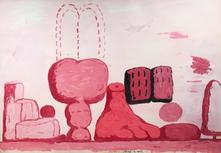 Philip Guston (1913-1980) Roma 1971 Oil on paper m...